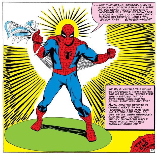 spider-man underarm webbing steve ditko