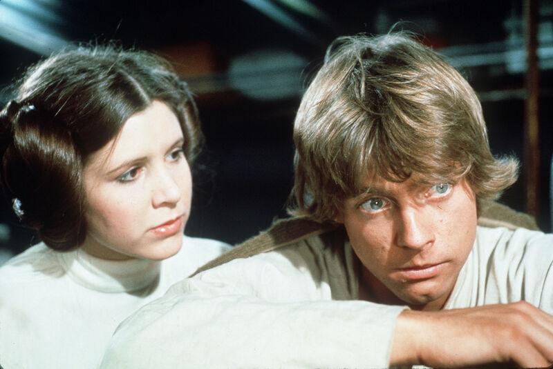 Luke Leia Star Wars