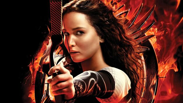 book-to-movie adaptations hunger games catching fire jennifer lawrence
