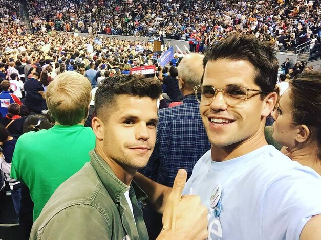 Teen Wolf News Charlie Carver Max Carver Bernie Supporters