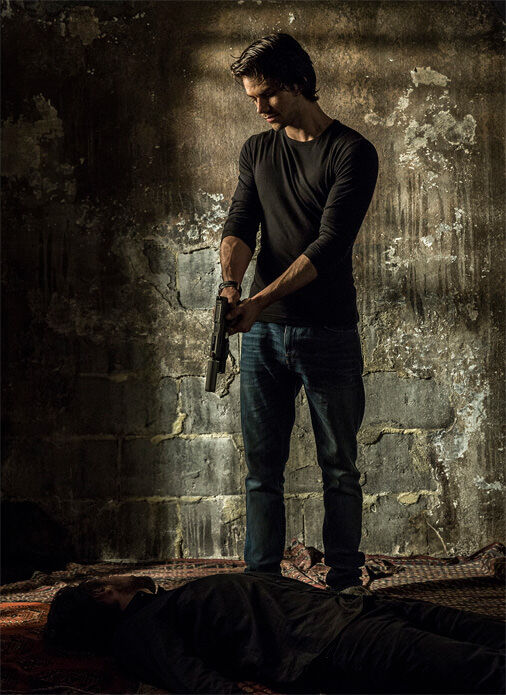 A first look image from CBS Films of Dylan O'Brien as Mitch Rapp in American Assassin