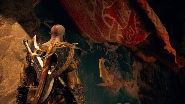 Kratos sees his death prophesied