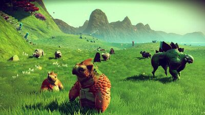 The Weirdest Creatures in 'No Man's Sky' So Far