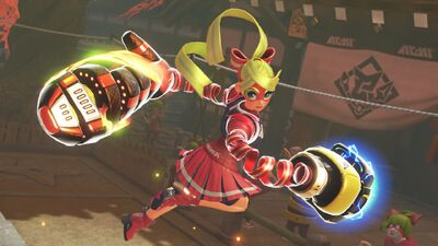 Switch Fighting Game 'Arms' Coming Out June 16