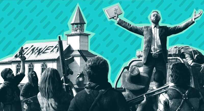 The Terrifying Real World Cults That Inspired Far Cry 5 Fandom