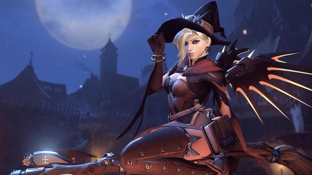 Overwatch Halloween Mercy