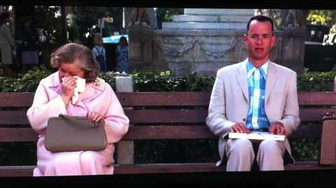 Forrest Gump (lady waits for another bus)