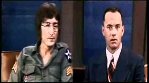 John Lennon on Forrest Gump (EN)