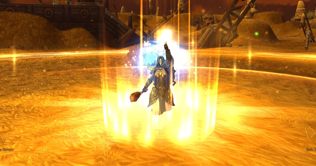 MMO Solo Player Healer