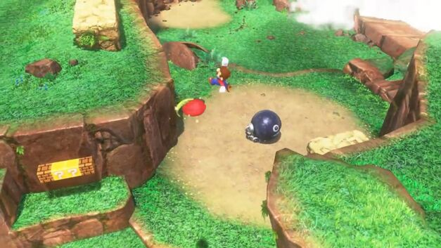 Super Mario can do some super jumping tricks with Cappy