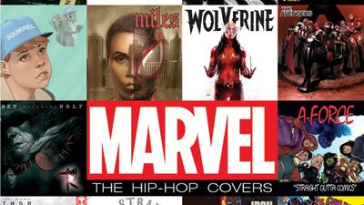 NYCC: Marvel: The Hip-Hop Covers – Cover Artist Signing