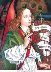 Martin Schongauer - Gabriel