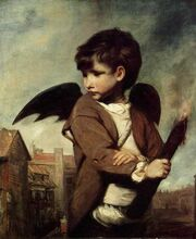 Joshua Reynolds - Cupid as Link Boy
