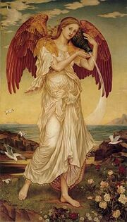 Evelyn De Morgan - Eos
