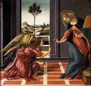 Botticelli - Annunciazione di Cestello