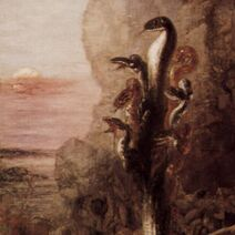 Gustave Moreau - Hydra (detail)