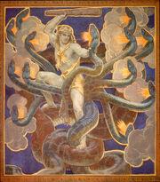 John Singer Sargent - Hercules against the Hydra