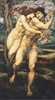 Edward Burne Jones - The tree of forgiveness