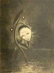 Odilon Redon - la fleur du marécage
