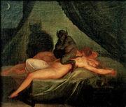Nicolai Abraham Abildgaard - Nightmare