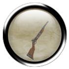 Iron clockwork rifle