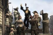 Fable 2 Black Wheelgang outfit