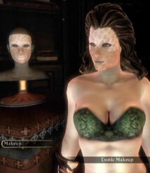 Fable 3 Exotic Makeup