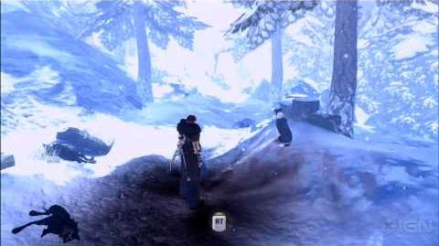 Fable III Gameplay Combat in the Snow - E3 2010