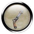 Steel turret pistol