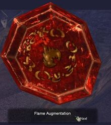 Flame augmentation