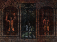 Chamber of Fate Fresco - Prison