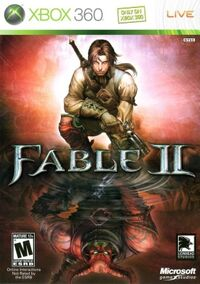 Fable II Xbox360 cover