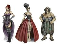 Fable II Prostitute Concept Art