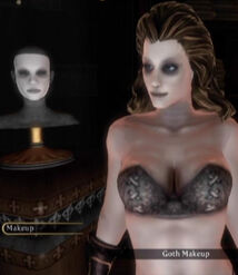 Fable 3 Goth Makeup