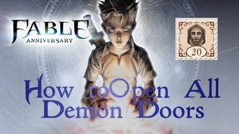 Fable Anniversary - How to open all 12 Demon Doors
