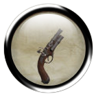 Rusty clockwork pistol