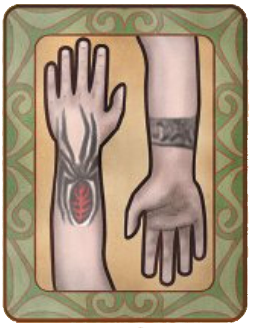 Red Widow Tattoo The Fable Wiki Fandom Powered By Wikia