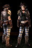 Women's Mercenary Suit