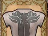 Furite Deathead Back Tattoo
