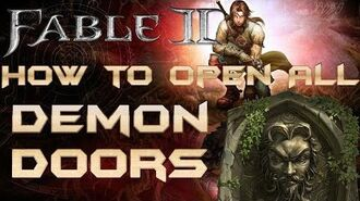 Fable 2 - How To Open All Demon Doors
