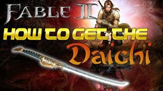Fable 2 - How To Get The Daichi (Best Melee)-0