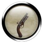 Iron clockwork pistol