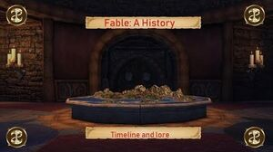 Fable A History (Timeline and Lore)