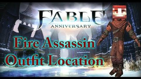 Fable Anniversary - Fire Assassin Outfit Location!
