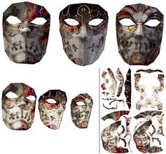 Masks of Blades