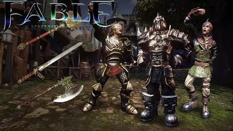 Fable Anniversary Armoured Weapons & Outfits Pack