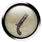 Rusty turret pistol