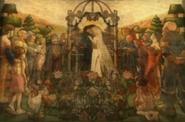 Chamber of Fate Fresco Marriage
