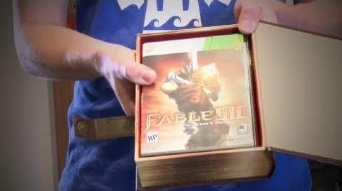 Fable 3 - Limited Collectors Edition Unboxing HD