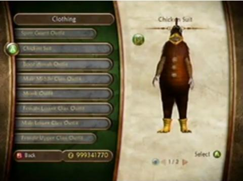 Chicken Suit (Fable II) | The Fable Wiki | FANDOM powered by